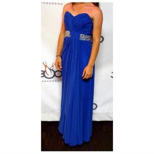 Stunning Blue Evening Gown